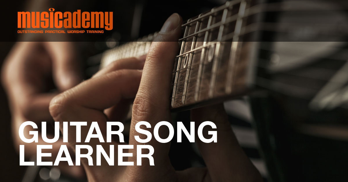 Guitar Song Learner I Could Sing Of Your Love Forever Over The